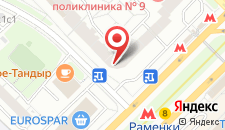 Гостиница Ломоносов на карте