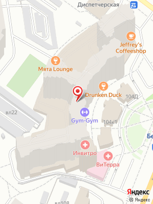 Drunken duck pub на карте