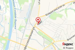 Адрес АО Мособлгаз Север на карте