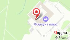 Гостиница Узкое на карте