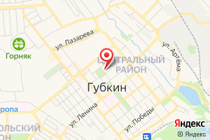Адрес МУП Губкин Сервис на карте