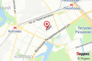 Адрес Мосгаз служба по эксплуатации Вдго по САО на карте