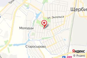 Адрес ВЗУ Щербинка-3 на карте