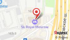 Гостиница СК Роял на карте