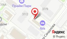 Отель Ибис Москва Динамо на карте
