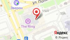 Хостел Берлога на карте