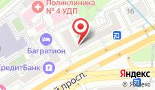 Гостевой дом Пафос на Киевской на карте