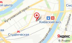 Расположение Страховая компания на карте