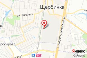 Адрес КНС Щербинка 4 на карте