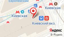 Гостиница ГородОтель на Киевском на карте