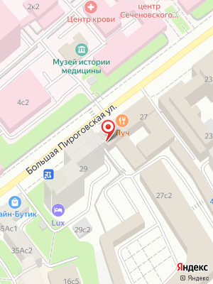 Бар & ресторан Луч на карте