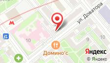 Отель Blues на карте