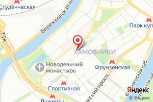 Адрес Интер РАО на карте