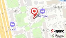Гостиница Ахоум-отель на Окружной на карте