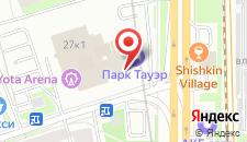 Гостиница Park Tower на карте