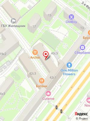 Ресторан Archie на карте