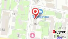 Гостиница Perina Inn на карте