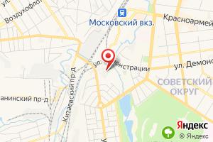 Адрес Тяговая подстанция станции Тула на карте