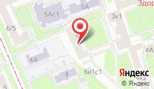 Хостел У метро Дмитровская на карте