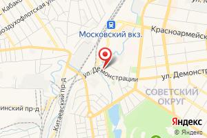 Адрес КТП № 1407 АО ТГЭС на карте