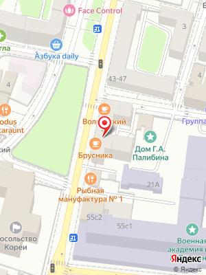 Волконский на карте