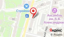 Мини-отель Адажио на Плющихе на карте