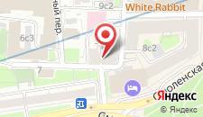 Гостиница Винтерфелл на Смоленской на карте