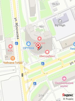 Яндекс.Лавка на карте