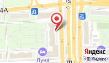 Отель Алтай на карте