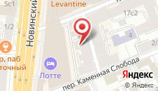 Мини-отель Арбат на карте