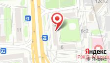 Хостел Вежливый лось на Савеловской на карте
