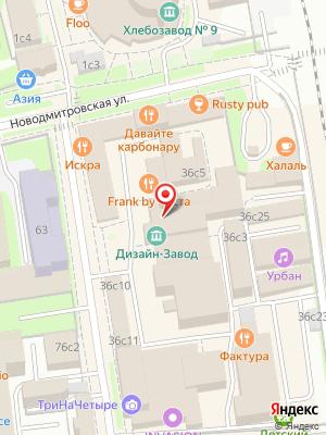 Market Burger Bar на карте