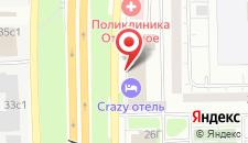 Гостиница Погости на Алтуфьевском на карте