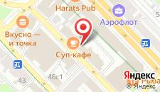 Отель Ампир Белорусская на карте