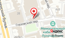 Гостиница Елисеефф на карте