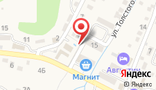 Отель Лагуна на карте