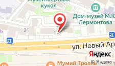 Отель Happy (Paradise) на Новом Арбате на карте