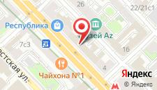 Хостел Nice на карте