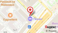 Гостиница Пекин на карте