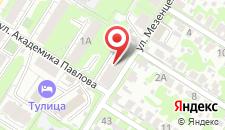 Гостиница Тулица на карте
