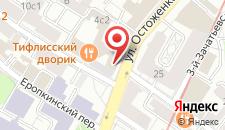 Отель Кебур Палас на карте