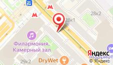 Хостел Москва на карте