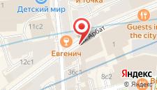 Апарт-отель Axis Moscow на карте