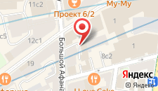 Хостелы Рус - Арбат на карте