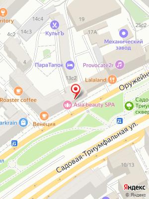 Ресторан Тан на карте