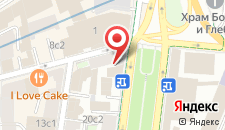 Отель Руссо Балт на карте