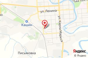 Адрес Газпром межрегионгаз Тверь, Абонентская группа г. Кашин на карте