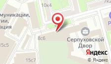Отель Серпуховской Двор на карте