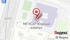 Гостиница Москомспорт на карте