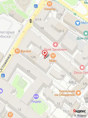 Гранд кафе Прованс на карте